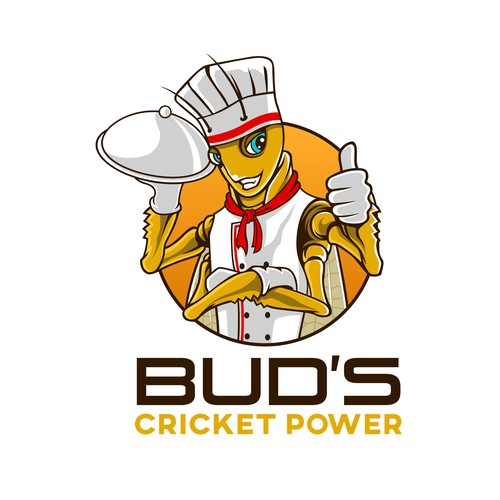 Design a Bad-Ass Cricket Character for our Cricket Powder Product