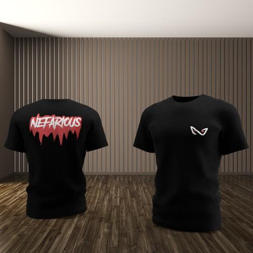 T-shirt design for new Esports team