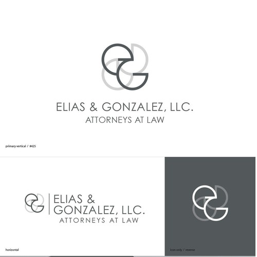 Clean and modern look for law firm.