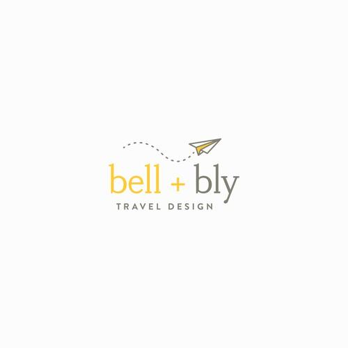 bell + bly Logo Design