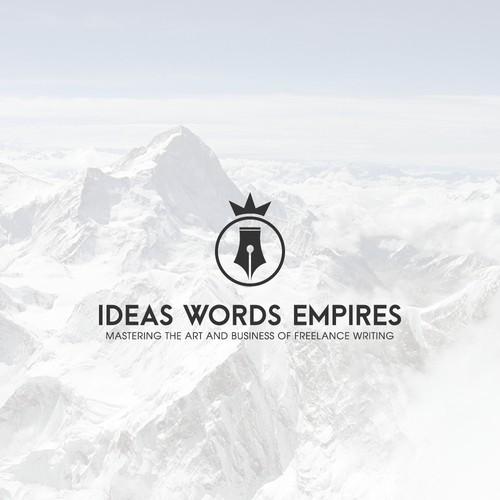 Simple logo for freelance writing