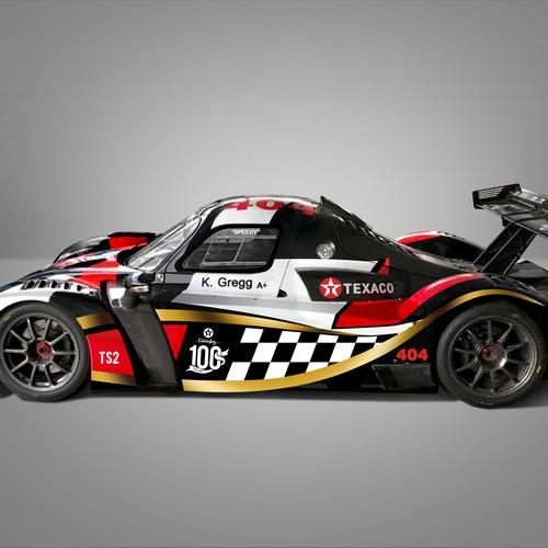 Car Wrap for The Champion, K. Gregg's Radical RXC