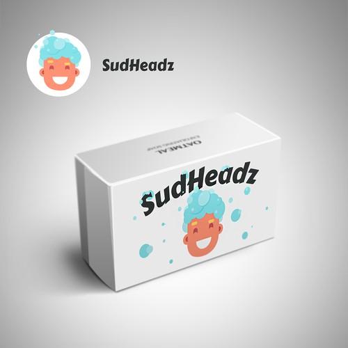 "Logo Design Soap ""SudHeadz"""