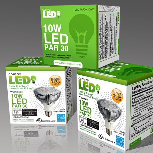 LED Bulb new packaging design