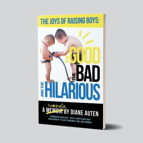 Fun book cover about rasing children