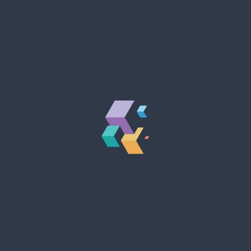 Minimal & Isometric Logo Design