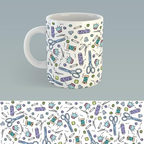 缝纫杯设计