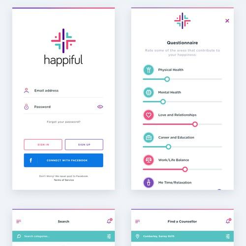 Happiful - Mobile App