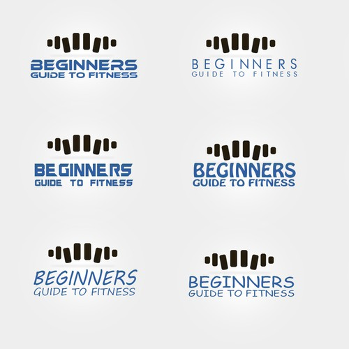 Create a capturing logo for an online fitness business