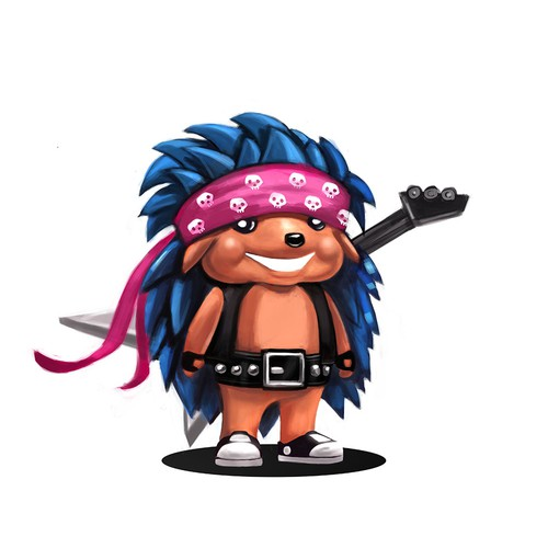 Hedgy the Rockstar