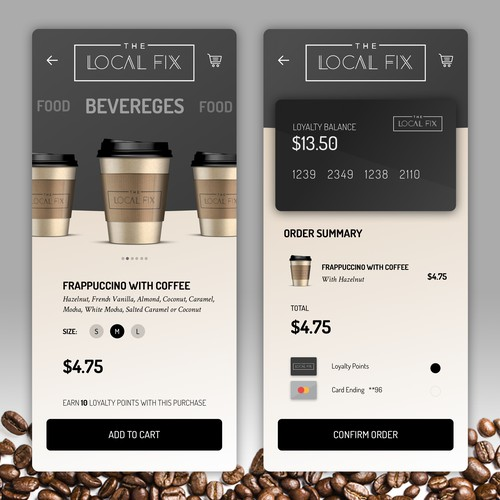 App Design for Local Coffee Shop