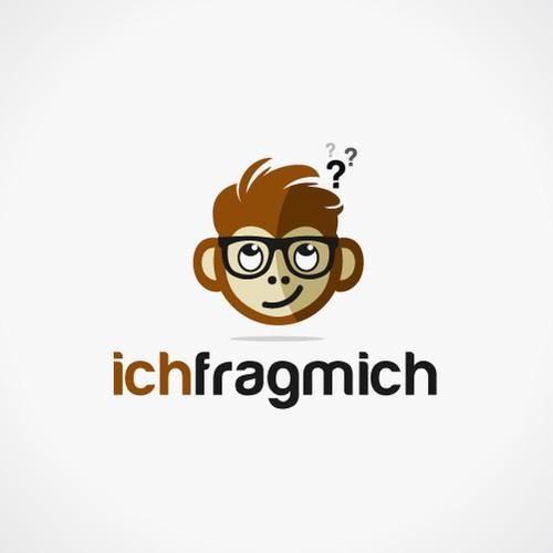 Bold logo concept for Ichfragmich