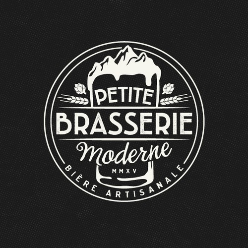 Logo for a french microbrewery