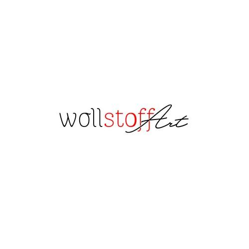 Logodesign «wollstoffArt»