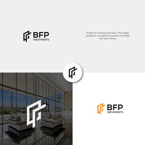 simple real estate logo vector design
