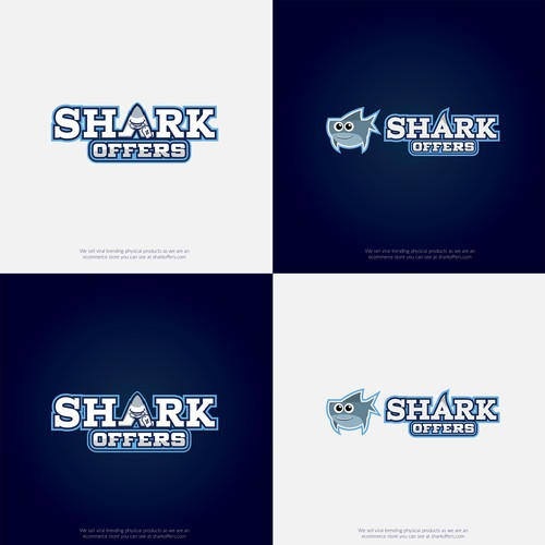 Design a DOPE Logo For Shark Offers