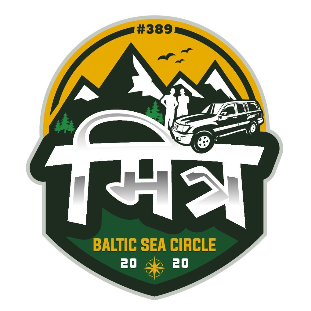 """Unser Teamlogo für die Youngtimer Ralley """"Baltic Sea Circle"""""""