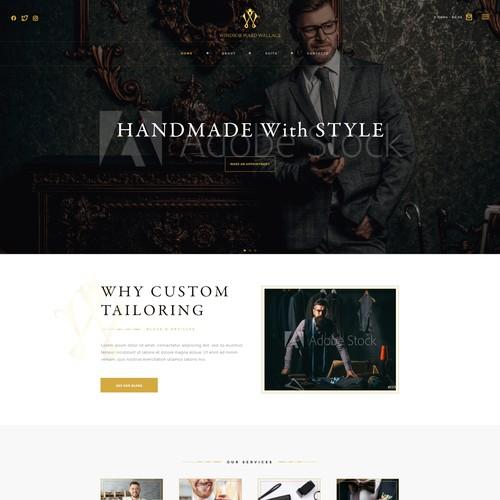 Mens Tailoring Site
