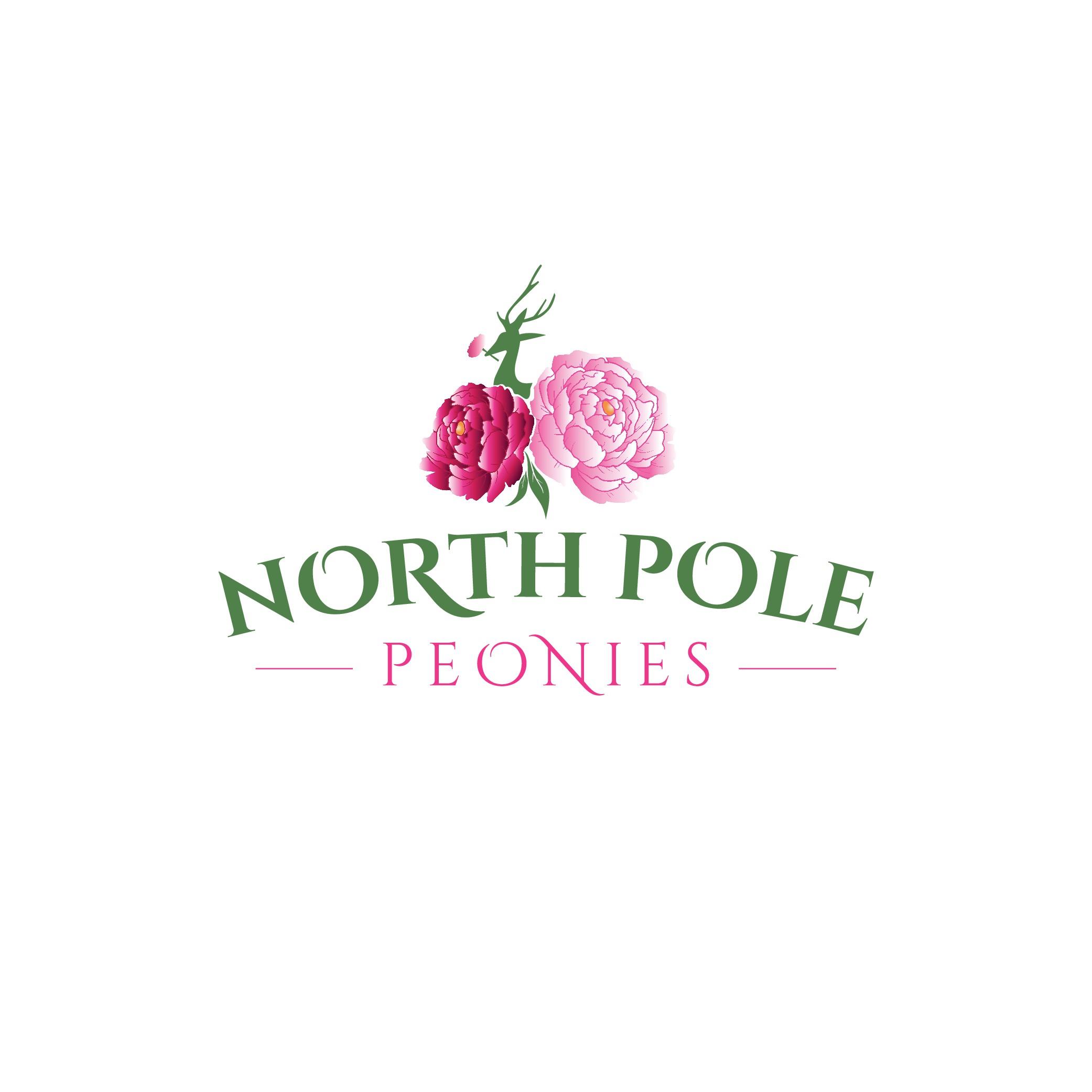 Family peony flower farm wants a stunning, Alaskan logo