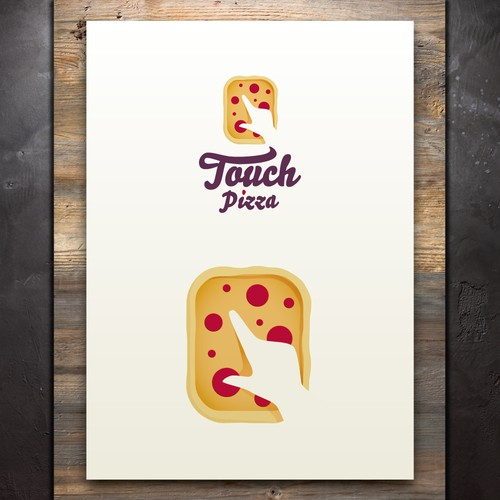 TouchPizza visual identity