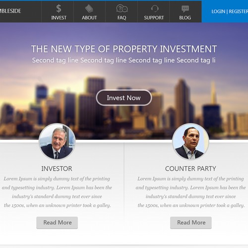 New website design wanted for Rambleside Real Estate Capital LLC