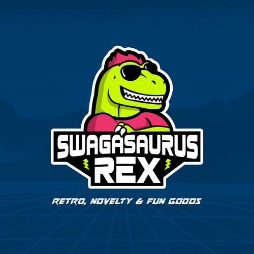 Swagasaurus Rex logo