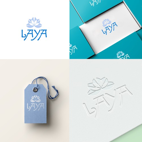 Logo for eco-friendly bag brand LAYA