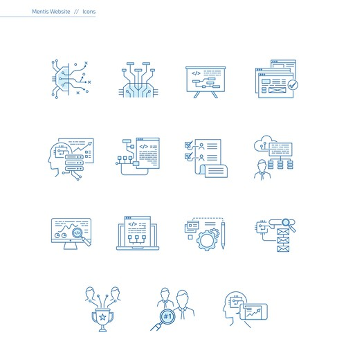 Mentis Website Icons