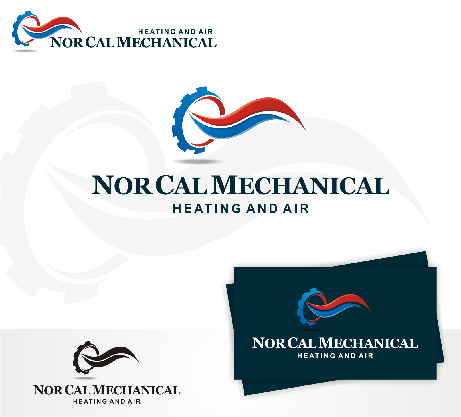 Bring new life to our logo:  Nor Cal Mechanical Heating and Air