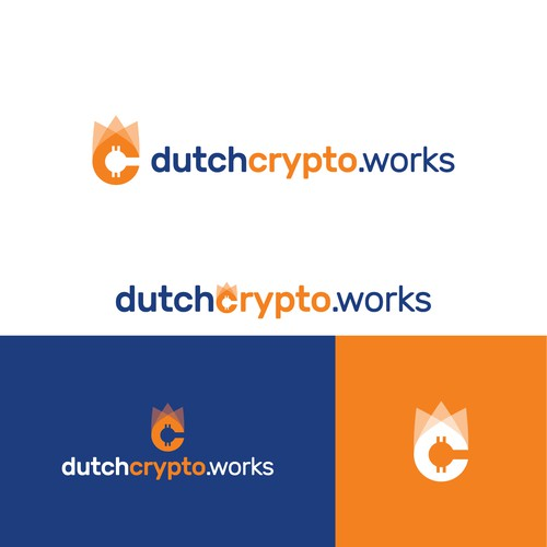 Dutch Crypto Works Logo Design