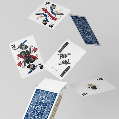 Design for poker cards