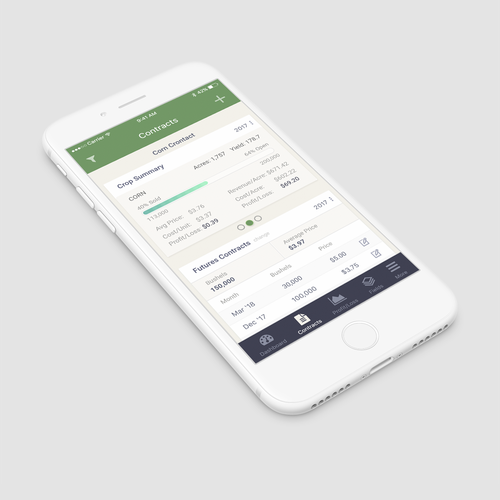 App contract page
