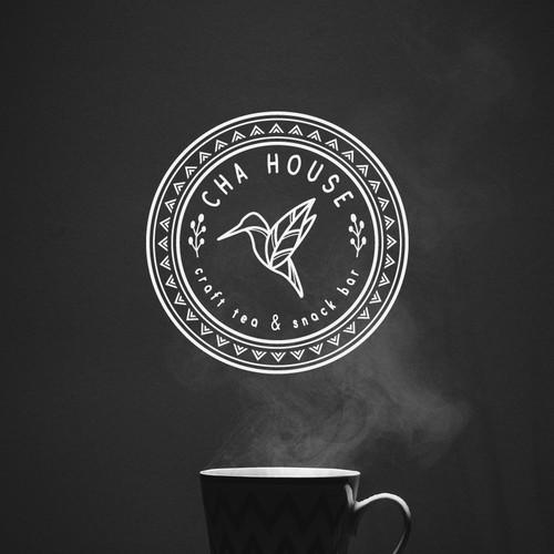 Powerful Logo for Asian-Style Tea House