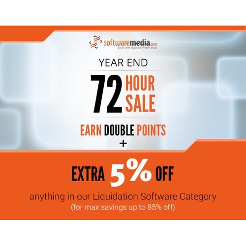 72 Hour Sale Banner for SoftwareMedia