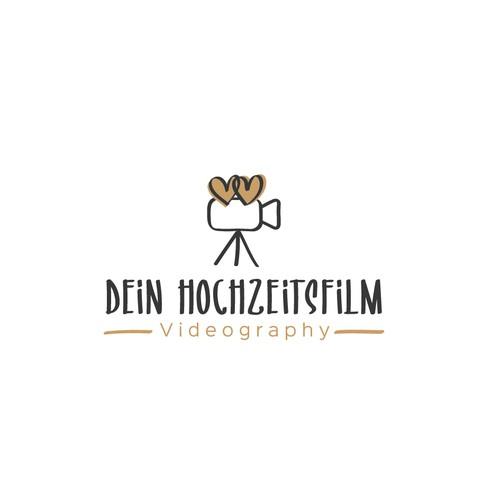 Logokonzept für einen Hochzeitvideographen