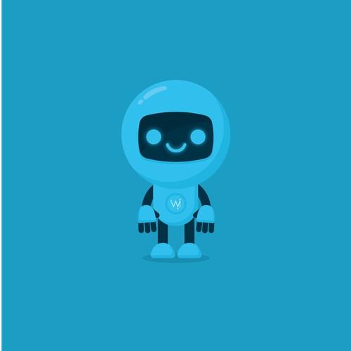 Robot mascot