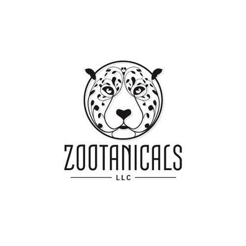 Leopard & Nature logo concept