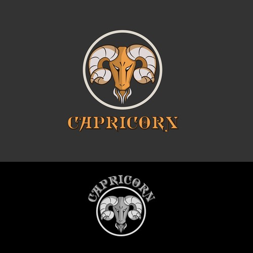 Logo for a drink company