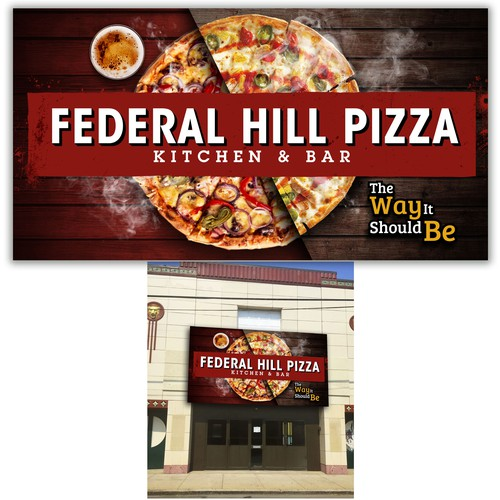 Cartelera Federal Hill Pizza