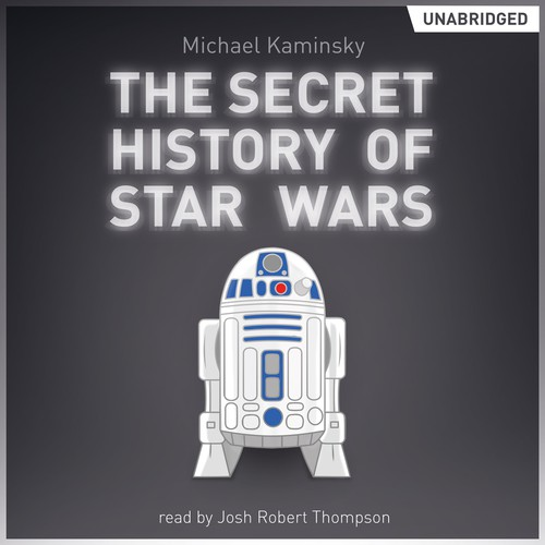 "Design the ""Secret History of Star Wars"" book cover for Audiobooks.com"