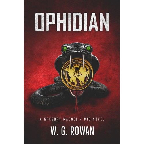 Ophidian -book cover-