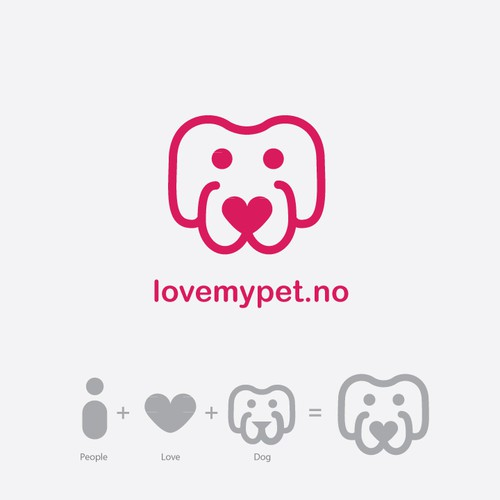 LovemyPet.no is looking for a new modern, fresh logo. Classy andhappy.