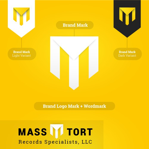 Mass Tort Logo Design Concept
