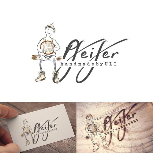 Logo concept for a carpenter