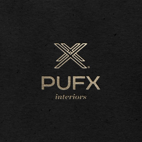 PUFX Interiors Logo Project