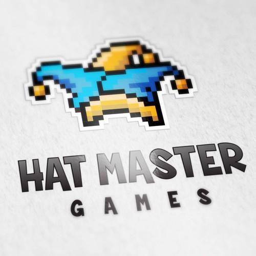 Hat Master Games Logo Design