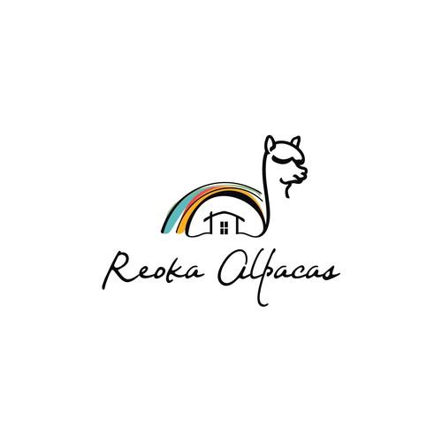 logo for reoka alpaca