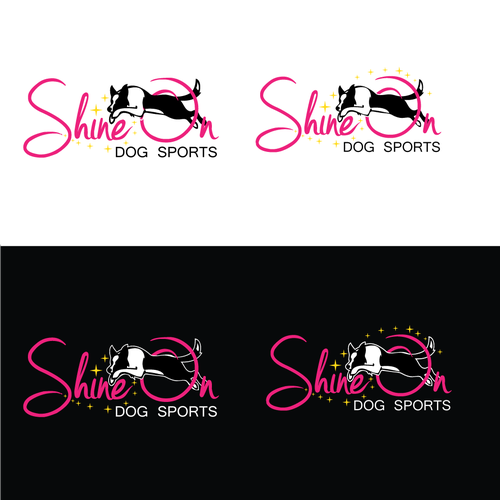 Shine On- Dog Sports logo