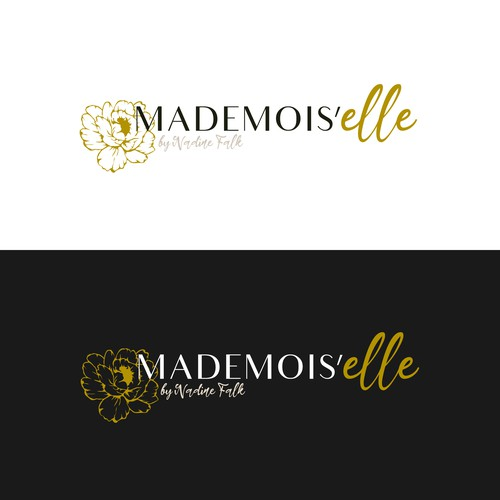 Logo concept for a French fashion brand
