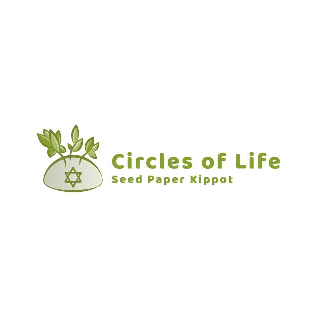 Logo for environmentally friendly religious product company